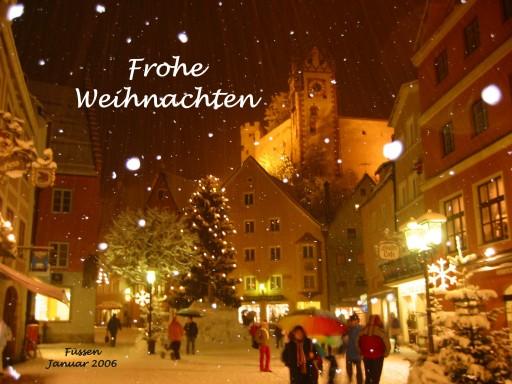 Weihnachtsmarkte in Deutschland